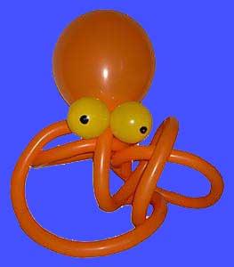Luftballonfiguren-Oktopus-Tintenfischjpg Luftballontiere für Eröffnung-Tag der offenen Tür-Messe