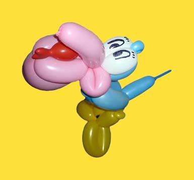 Luftballontiere Pelikan