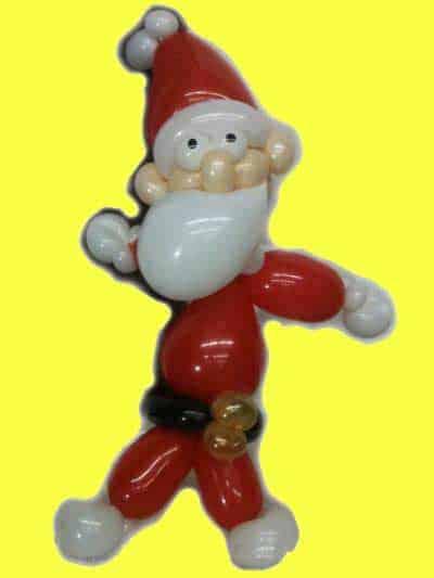 luftballontiere-weihnachtsmann-nikolaus Luftballontiere für Eröffnung-Tag der offenen Tür-Messe